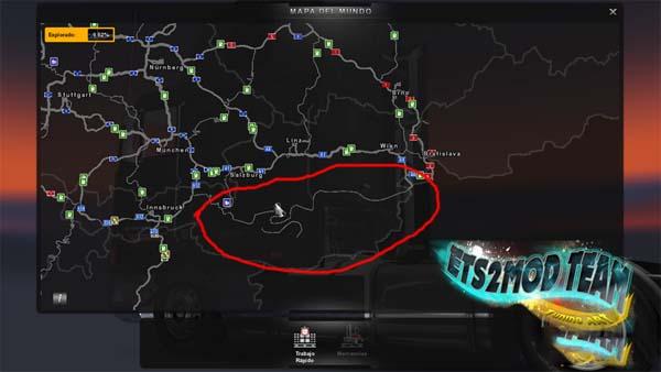 Awibmodeuropa V 1 0 Mod Map Europa Euro Truck Simulator