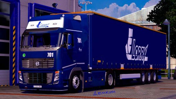Lorry Skin for volvo fh 2009 -Euro Truck Simulator 2 Mods