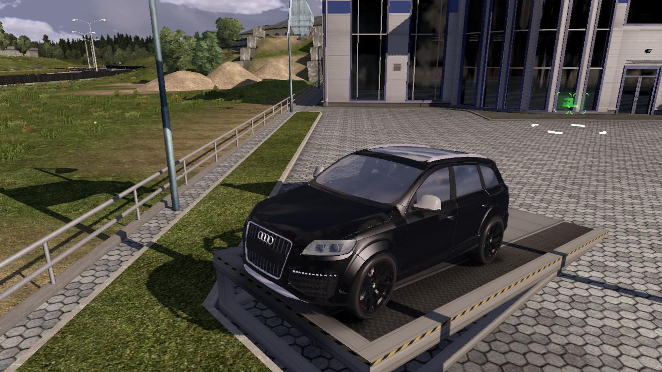 audi q7 v2 euro truck simulator 2 mods. Black Bedroom Furniture Sets. Home Design Ideas