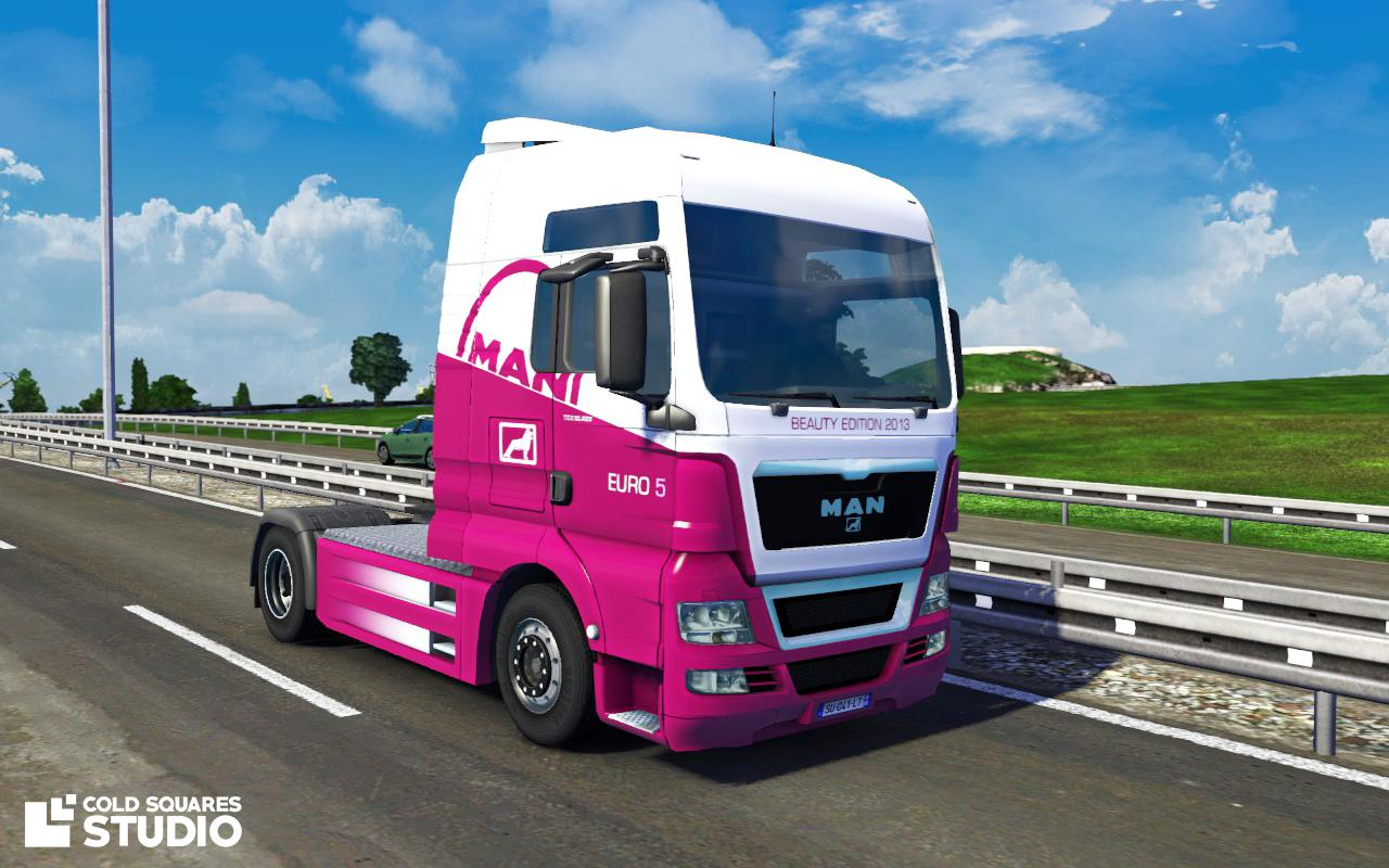 man tgx 2014 euro 5 beauty edition euro truck simulator 2 mods. Black Bedroom Furniture Sets. Home Design Ideas