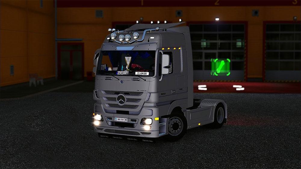 Mercedes Actros 1858 Interior Euro Truck Simulator 2 Mods