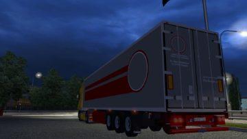 new krone trailer  euro truck simulator 2 mods