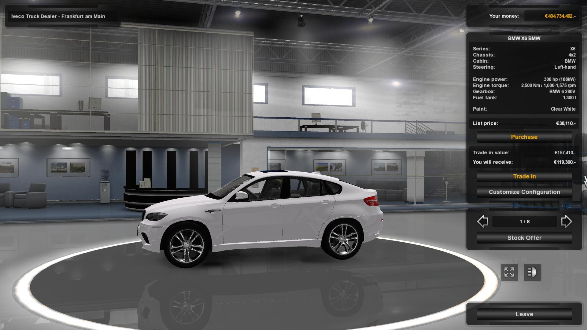 Bmw X6 V3 1 For 1 19 X Ets2 Euro Truck Simulator 2 Mods