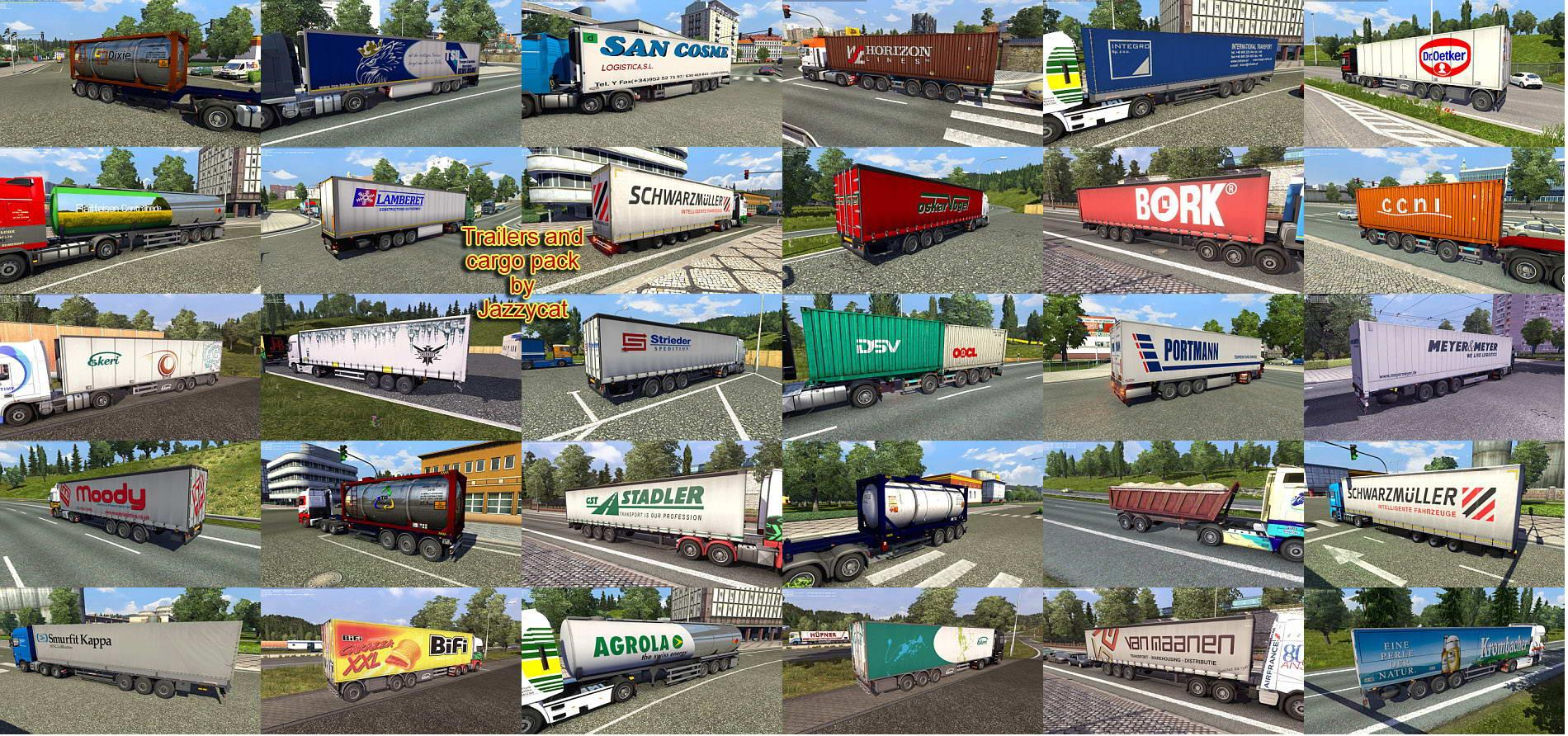 TRAILERS AND CARGO PACK BY JAZZYCAT V3 4 1 ETS2 (27) - ETS 2
