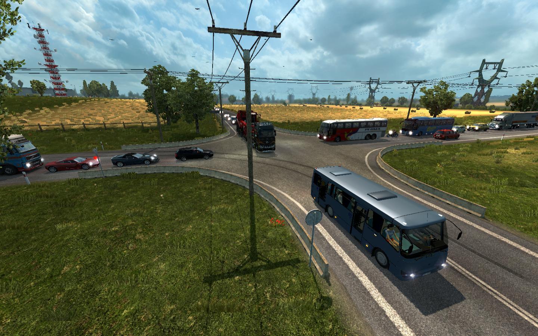 AI TRAFFIC DENSITY V3 Mod -Euro Truck Simulator 2 Mods