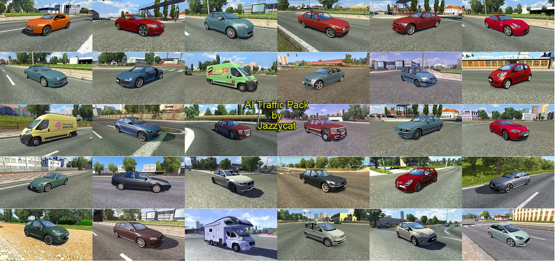 Ai Traffic Pack By Jazzycat V2 9 Ets 2 Euro Truck