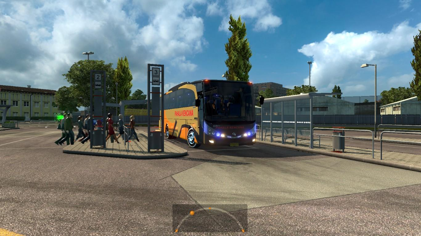 BUS PASSENGER TRANSPORT AND TERMINAL MODE V2 1 19 ETS 2