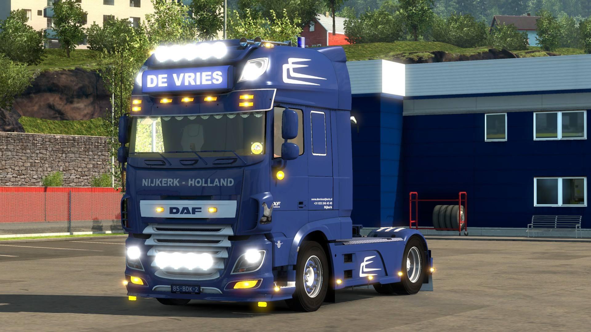DAF EURO6 DE VRIES Truck -Euro Truck Simulator 2 Mods