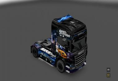 FAST AND FURIOUS V10 FOR ETS23 Truck Simulator Mods