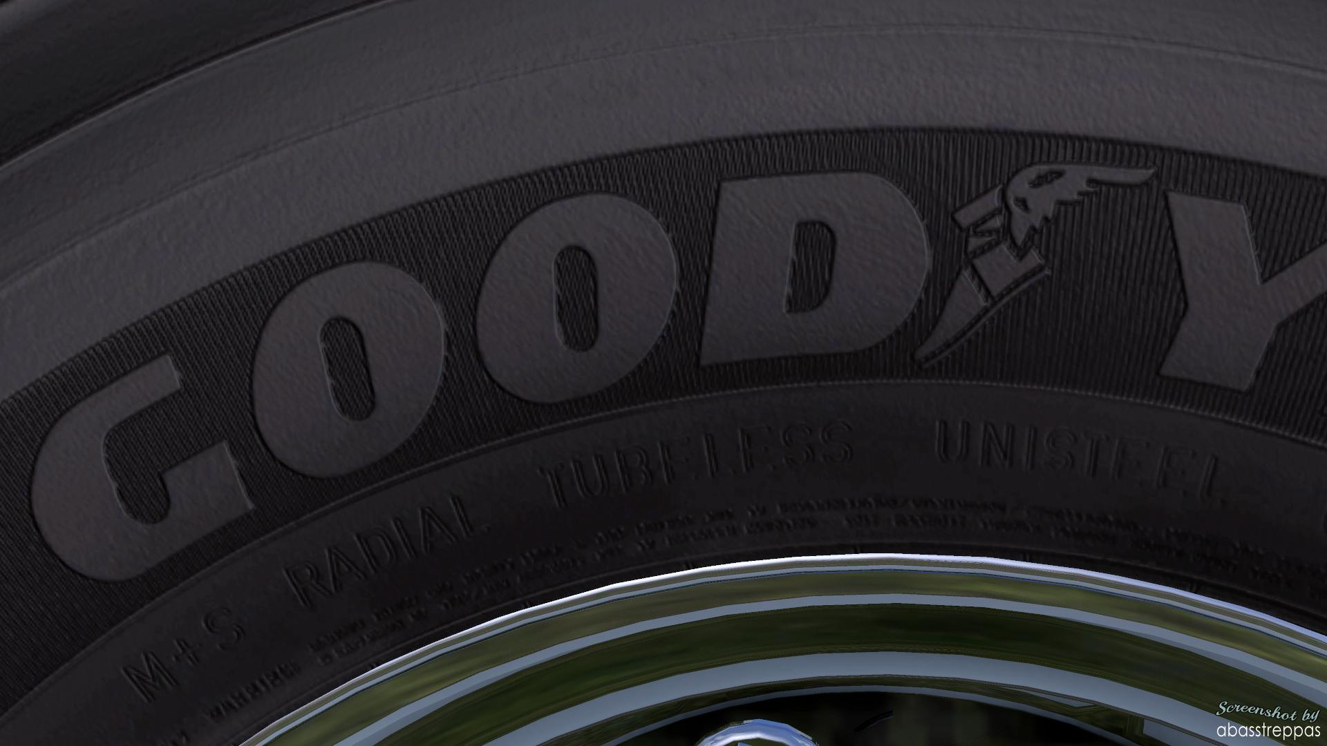Good Year Hd Texture For 50 Keda S Wheelpack For Ets2