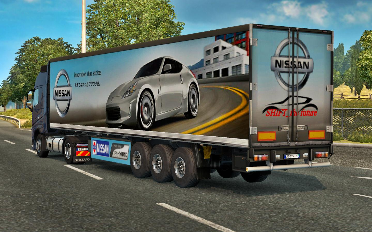 Japan Car Company Trailer Pack V1 0 Ets 2 Euro Truck