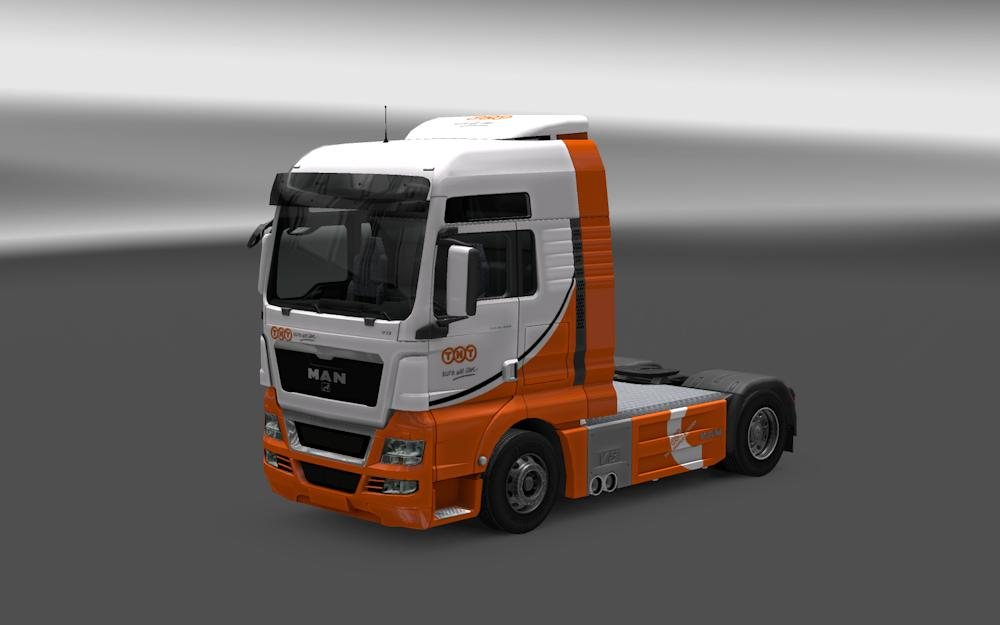 How to install ats mods mod for american truck simulator ats - Man Tgx Amp Euro6 Tnt Version 1 20 X Skin Euro Truck
