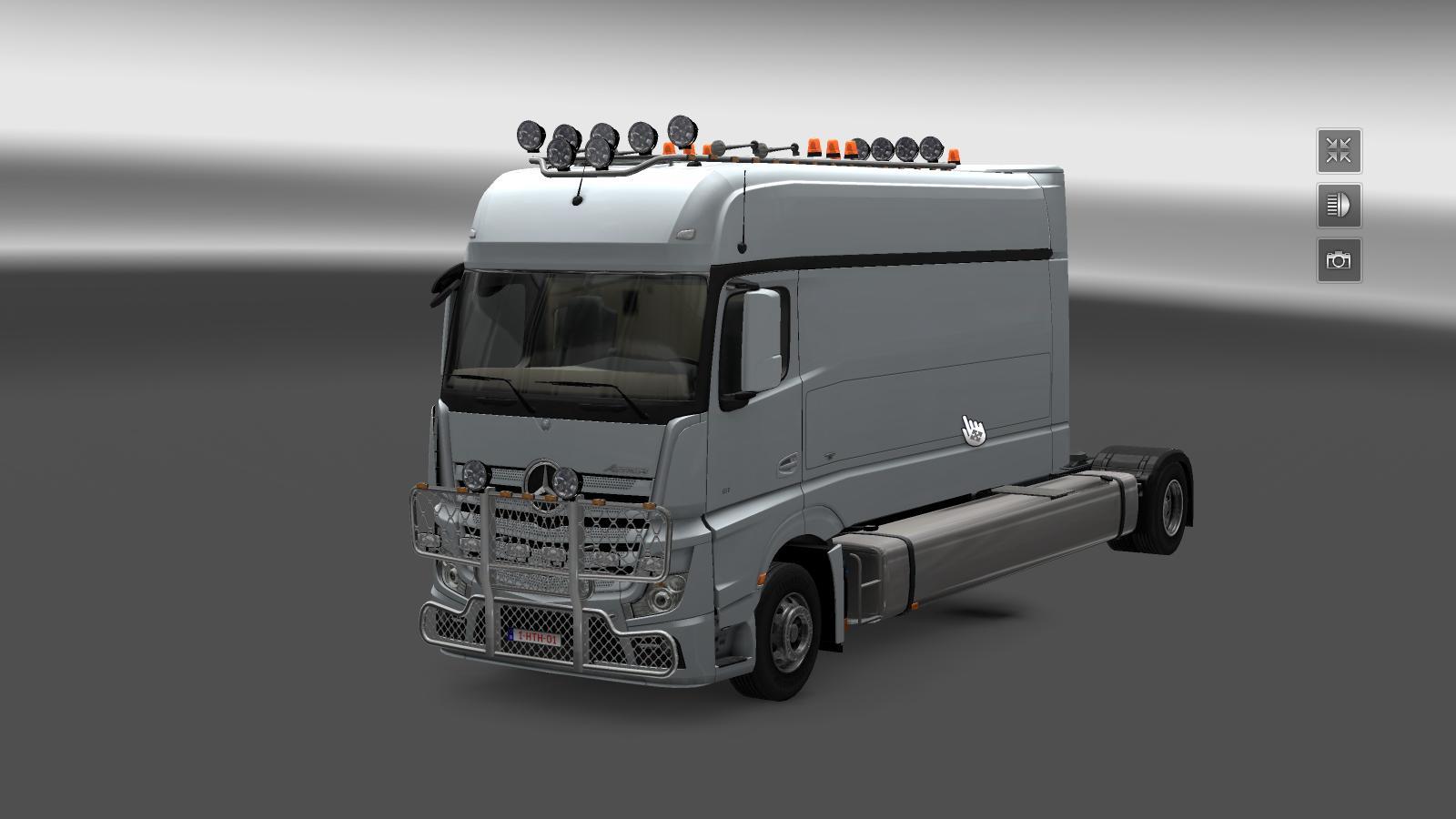 MERCEDES LONGLINE STAND ALONE Truck -Euro Truck Simulator ...