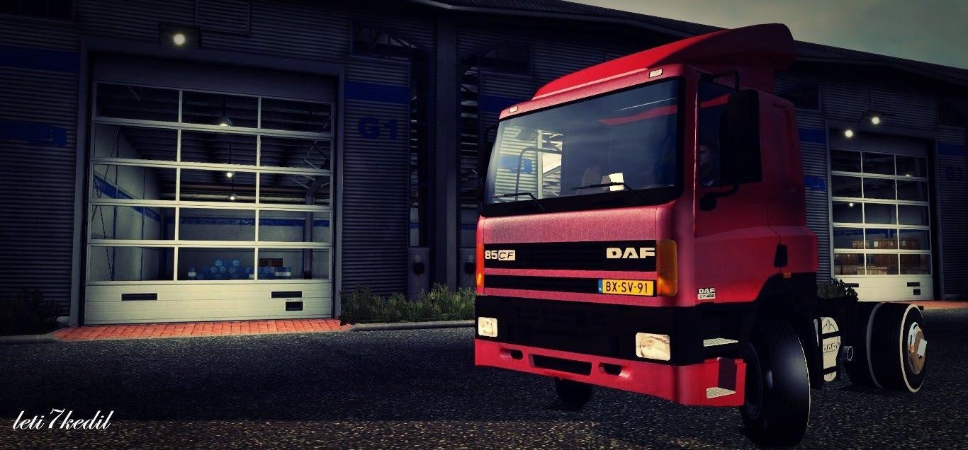 OLD DAF CF 85 For ETS2 -Euro Truck Simulator 2 Mods