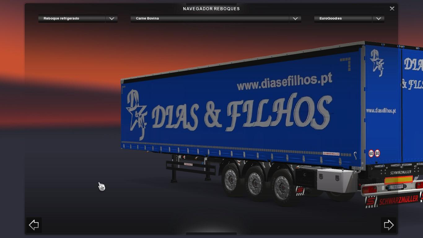 PORTUGUESE TRAILERS ETS Euro Truck Simulator Mods - Portugal map euro truck simulator 2