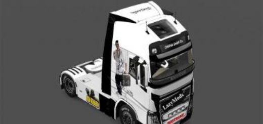SNOOP DOGG SKIN FOR VOLVO 2013 ETS2