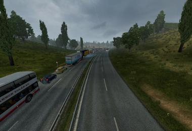 TRAFFIC DENSITY V1 ETS2 -Euro Truck Simulator 2 Mods
