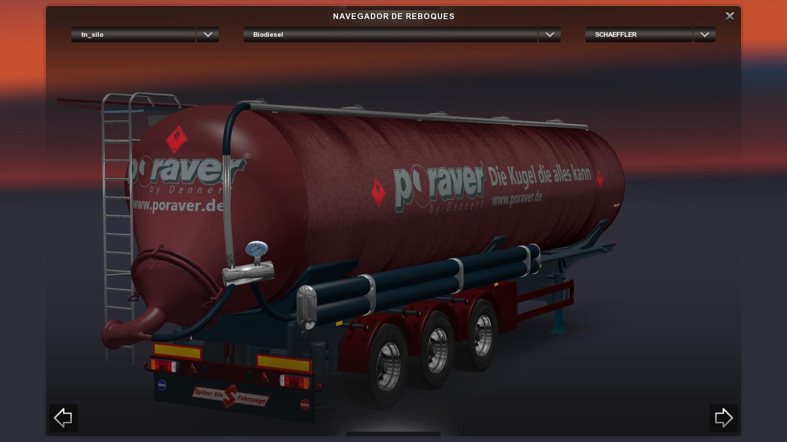 TRAILER SILO STANDALONE FOR ETS2 1.19.2.1 – V2.0 ETS2 -Euro Truck Simulator 2 Mods