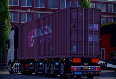 CONTAINER TRAILER [MULTIPLAYER] for ETS2 -Euro Truck