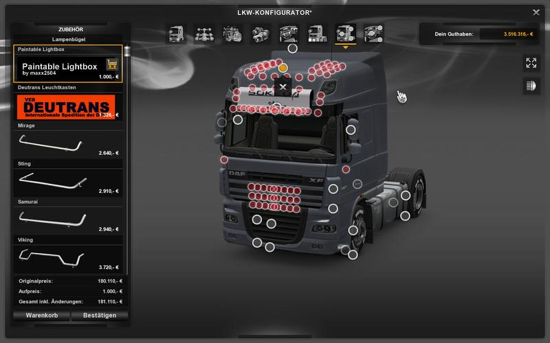 Allround Lightbox V1 0 Ets 2 Euro Truck Simulator 2 Mods