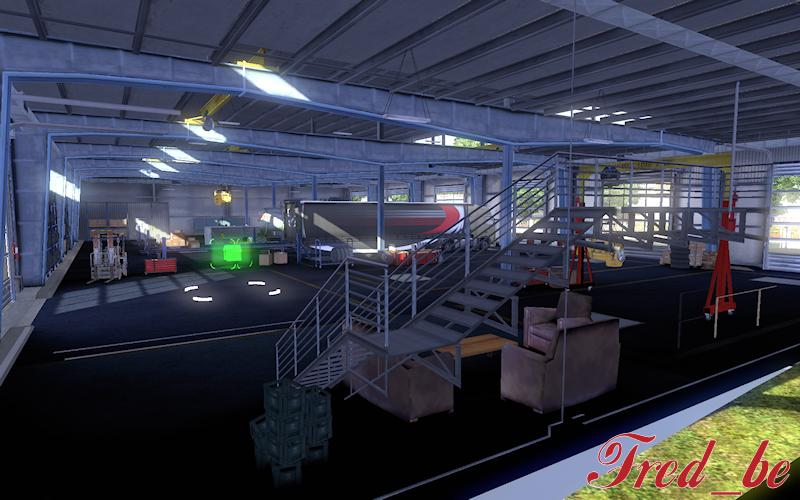 Big Garage Daf 120x Mod Euro Truck Simulator 2 Mods