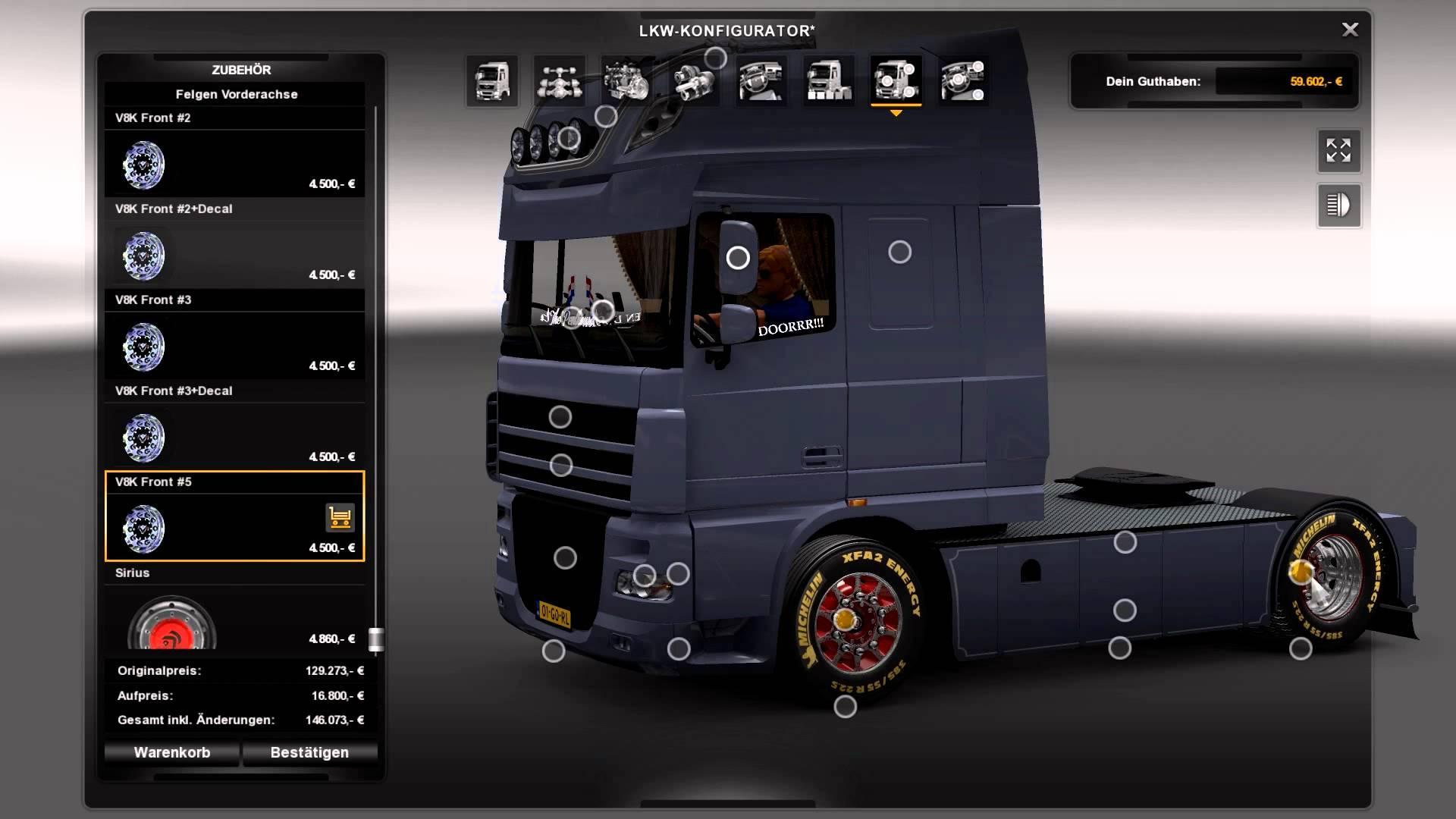 Daf 105 ssc schmitz flarepack truck truck simulator mods