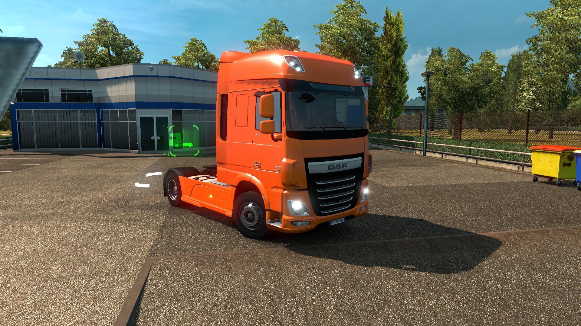 daf xf euro 6 reworked truck euro truck simulator. Black Bedroom Furniture Sets. Home Design Ideas