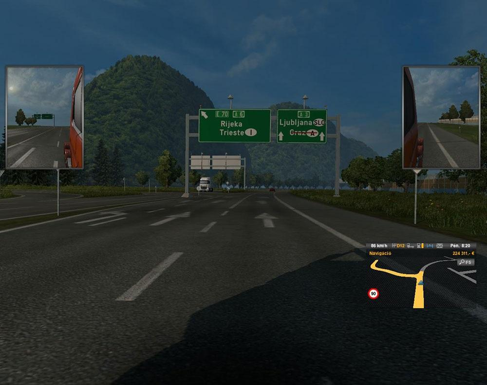 Europe Map With 11 Countrys By Morcos Bacsi Ets 2 Euro Truck