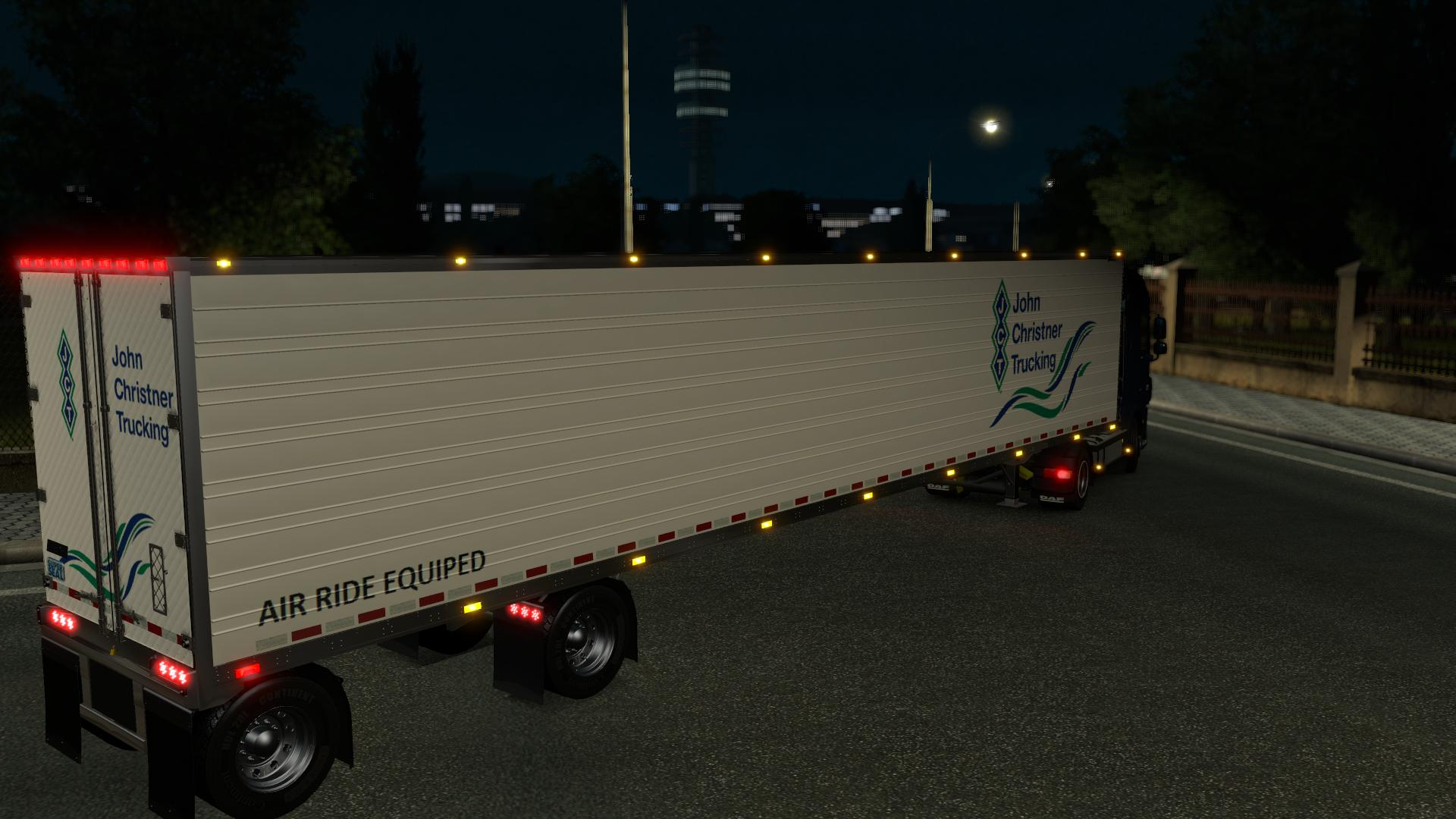GREAT DANE SPREAD AXLE Trailer -Euro Truck Simulator 2 Mods