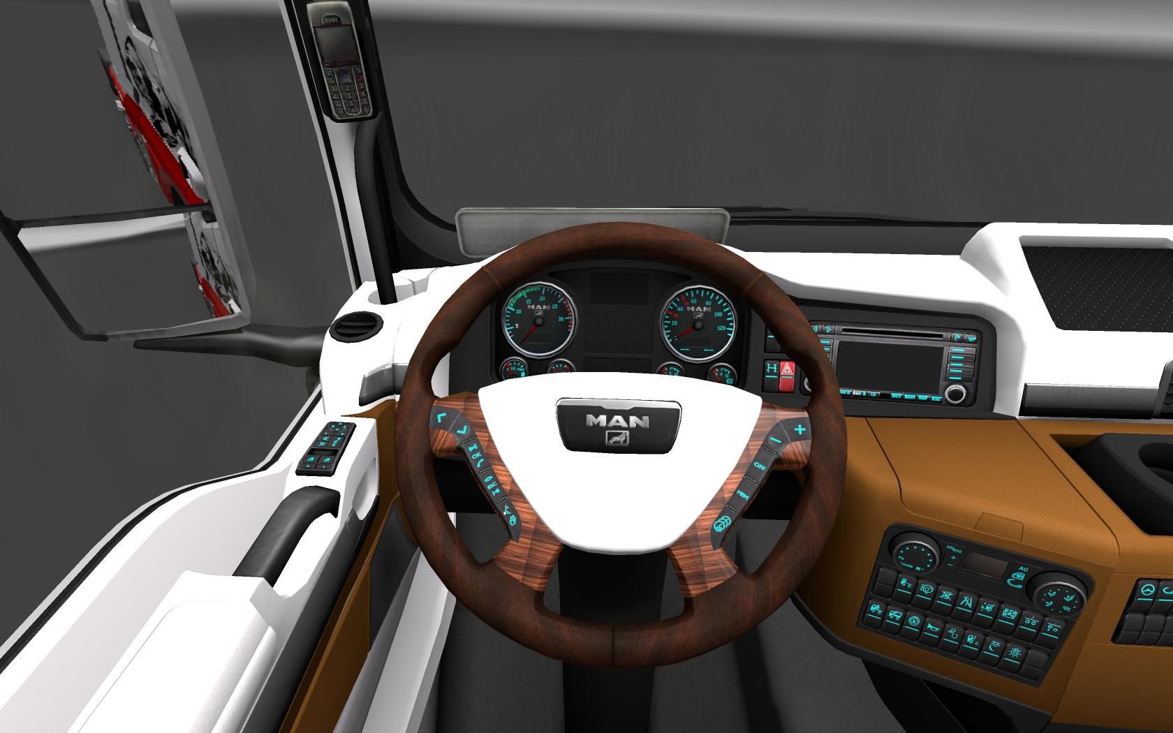 Man tgx interior by hummer2905 v2 0 mod euro truck for Interior design simulator