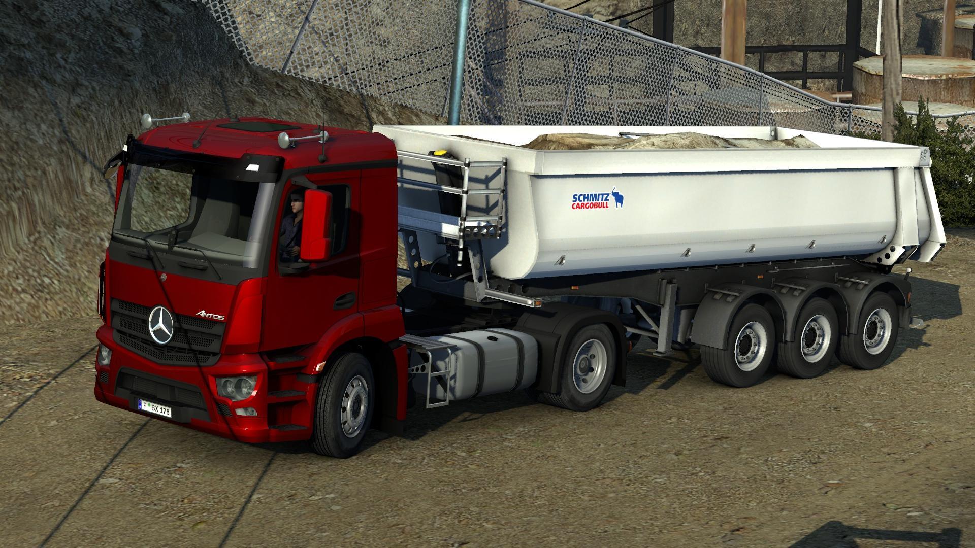 Mercedes benz antos 39 12 truck euro truck simulator 2 mods for Mercedes benz box truck