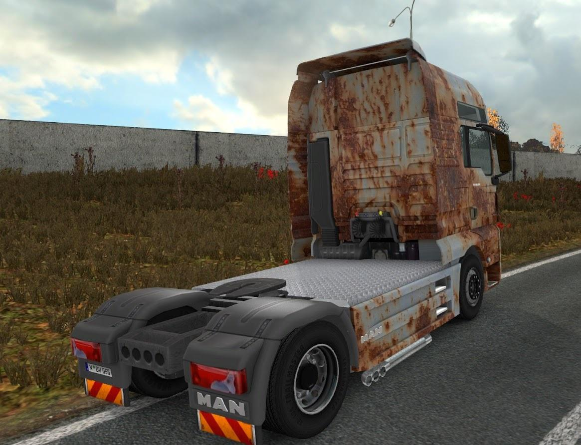 OLD RUST PACK FOR MAN TGX ETS 2 -Euro Truck Simulator 2 Mods