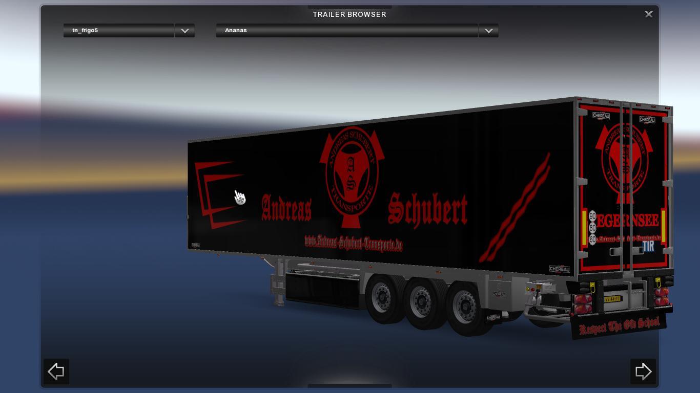 SCHUBERT PACK SCANIA RJL Skins -Euro Truck Simulator 2 Mods