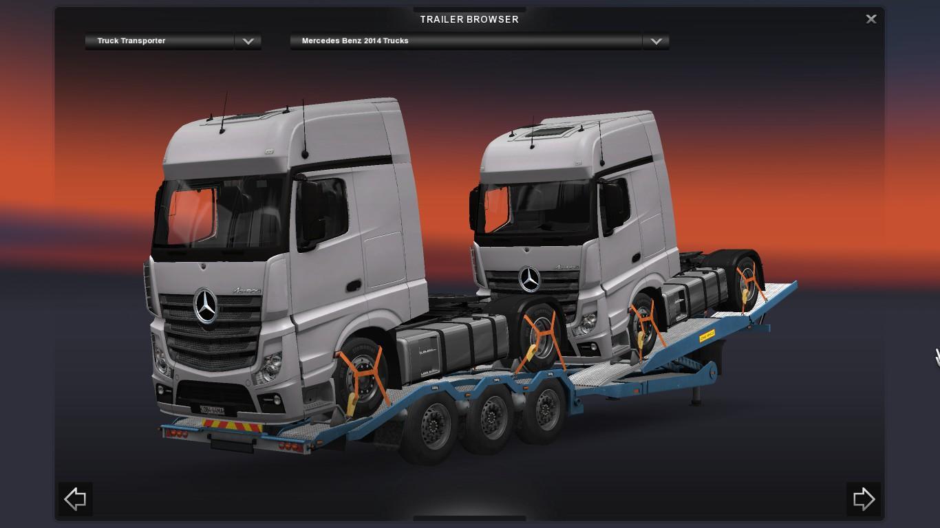 Truck Transporter Cargo Pack 1 20 Ets 2 Euro Truck