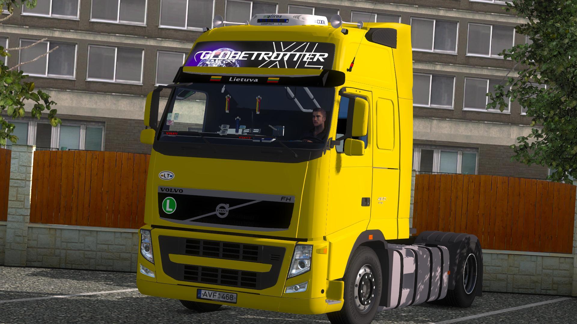 VOLVO FH GLOBETROTTER XL 480 Truck -Euro Truck Simulator 2 ...