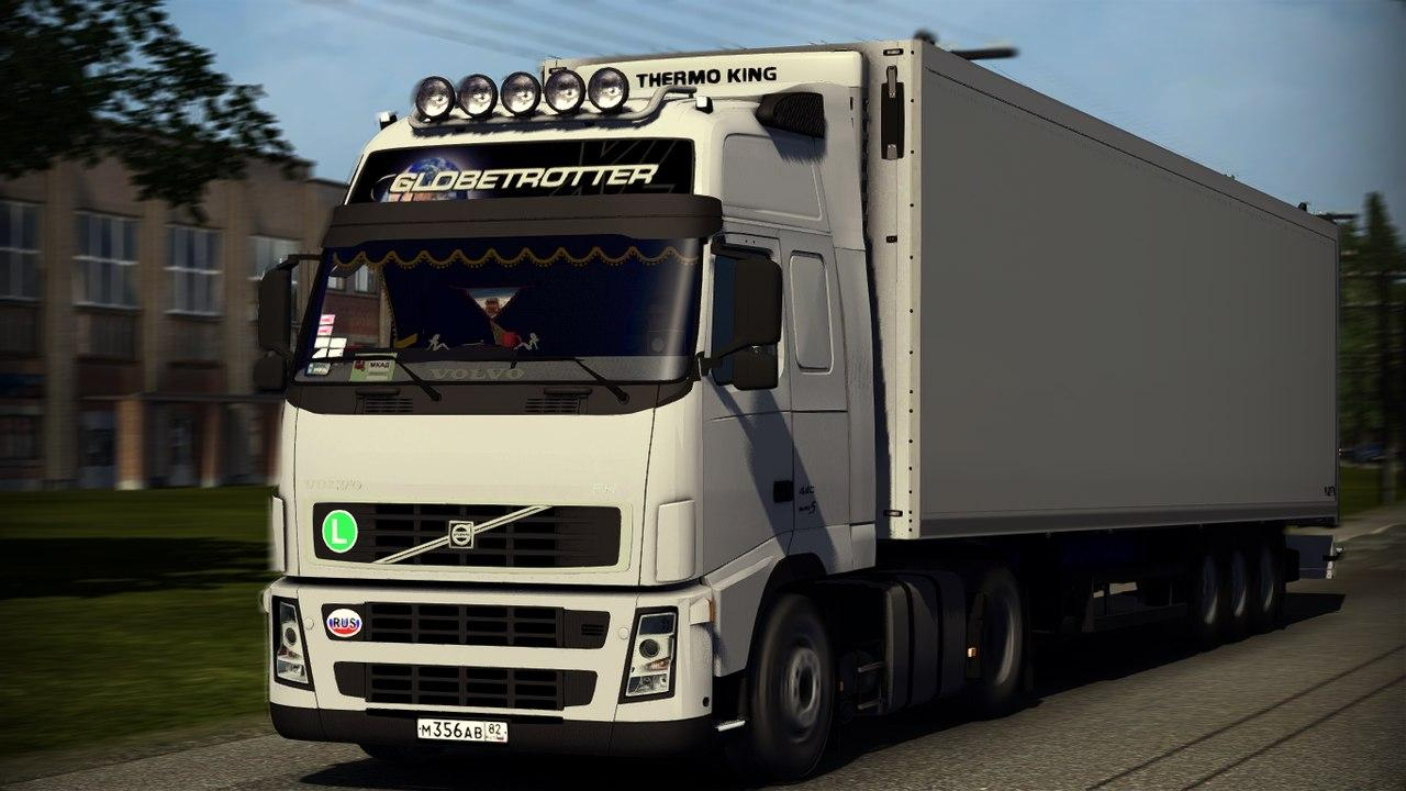 volvo fh12 460 truck euro truck simulator 2 mods. Black Bedroom Furniture Sets. Home Design Ideas