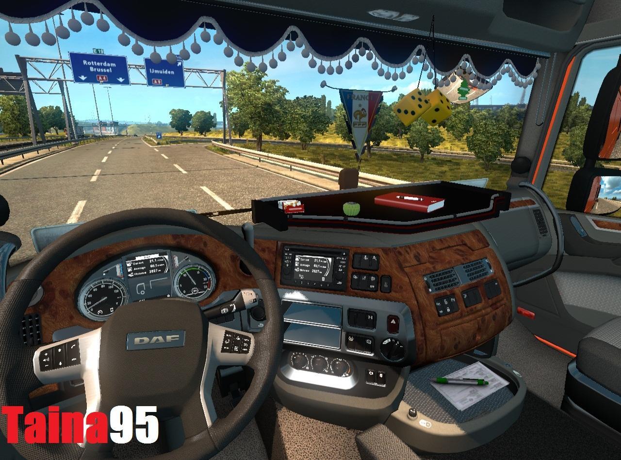 V8 illegal reworked truck v5 0 simulator games mods download - Daf Xf Euro 6 V1 0 Truck