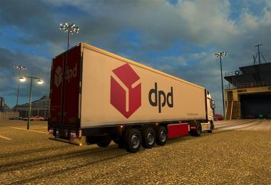 DPD (NEW COLOURS) MERCEDES MP4 COMBO PACK for ETS 2 -Euro Truck