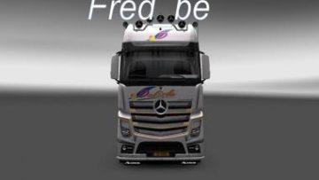 MERCEDES MPIV DELISLE SKIN ETS 2 -Euro Truck Simulator 2 Mods