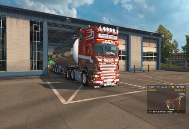 Simulator euro 2 v8 mod truck download sound scania
