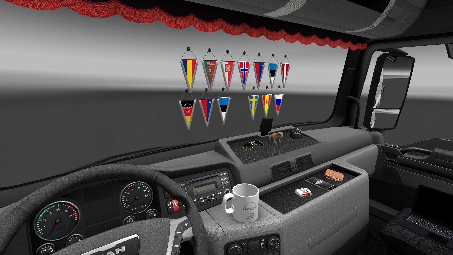 addons for dlc cabin ets 2 euro truck simulator 2 mods. Black Bedroom Furniture Sets. Home Design Ideas