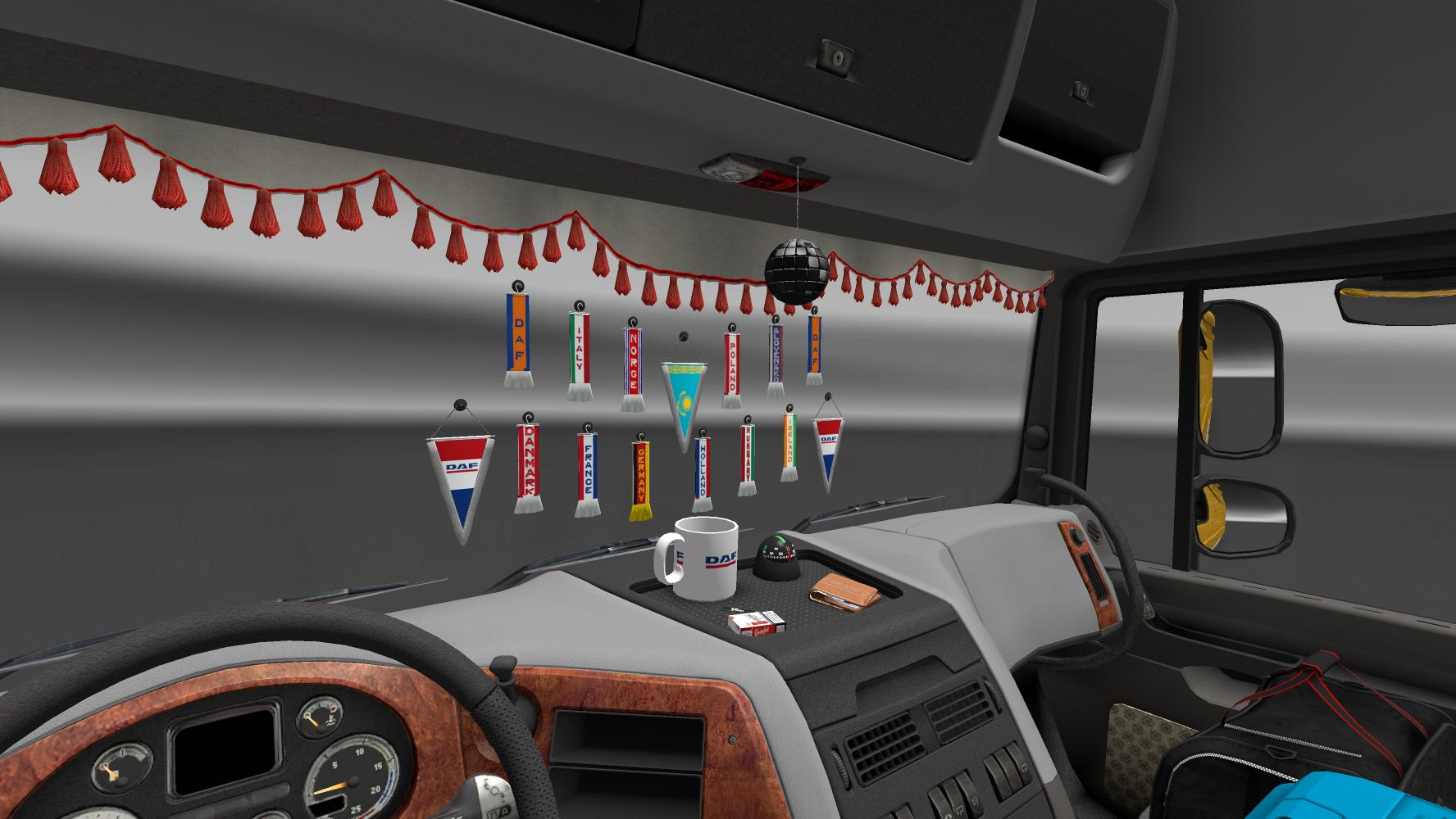 addons for dlc cabin v2 5 mod euro truck simulator 2 mods. Black Bedroom Furniture Sets. Home Design Ideas