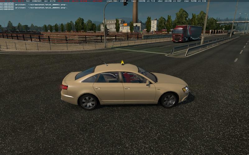 AI TAXI V1 0 Mod -Euro Truck Simulator 2 Mods