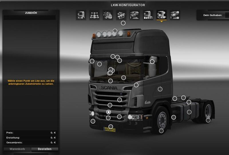 ALL SCANIA MODEL MEGA MOD V1 16 2 for ETS 2 -Euro Truck