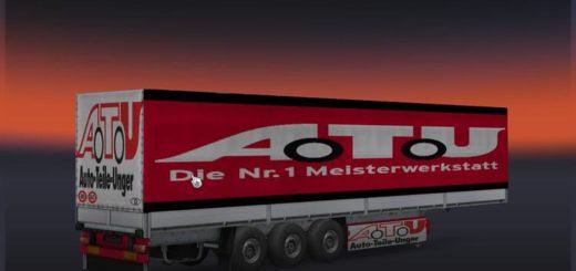 krone sdp27 dfds transport trailer for ets2 euro truck simulator 2 mods. Black Bedroom Furniture Sets. Home Design Ideas