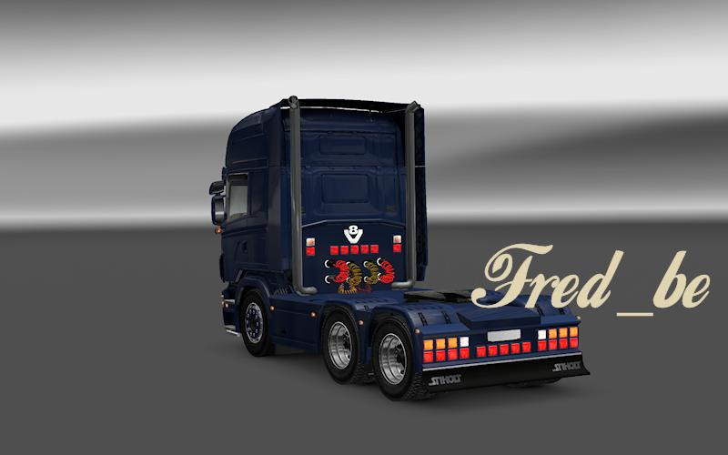 Backlights For Scania R2008 By Matdom 1 16 X Ets2 Euro