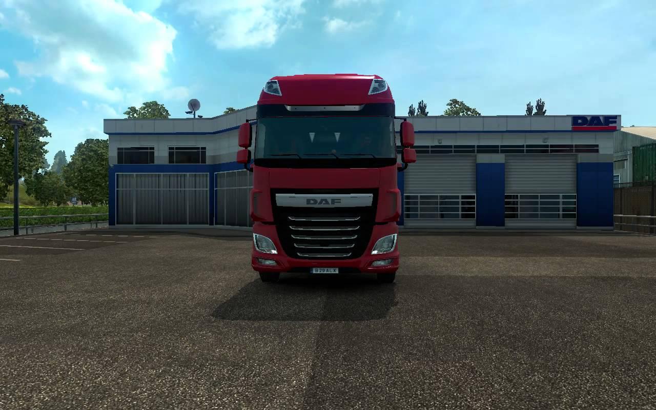 daf euro 6 stock original sound mod euro truck simulator. Black Bedroom Furniture Sets. Home Design Ideas