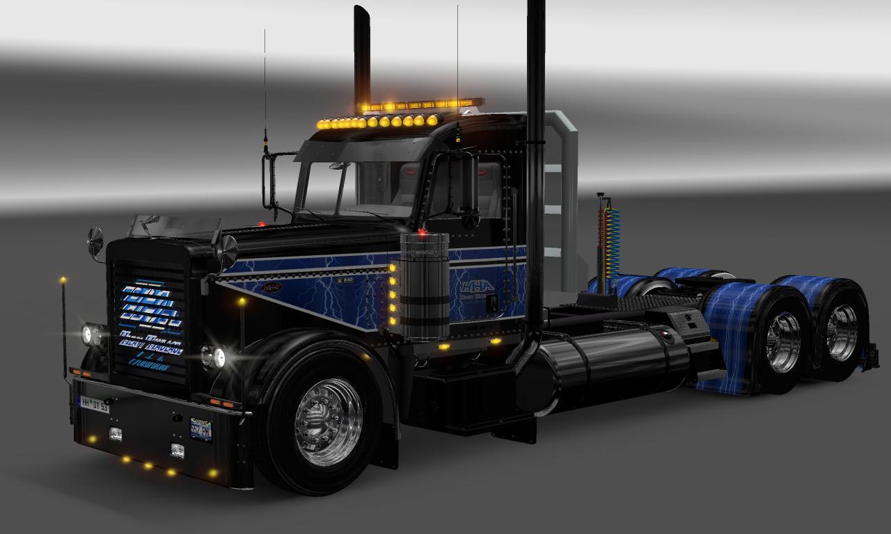HHA 2 VIPER2\'S MODIFIED PETERBILT 389 Mod -Euro Truck Simulator 2 Mods