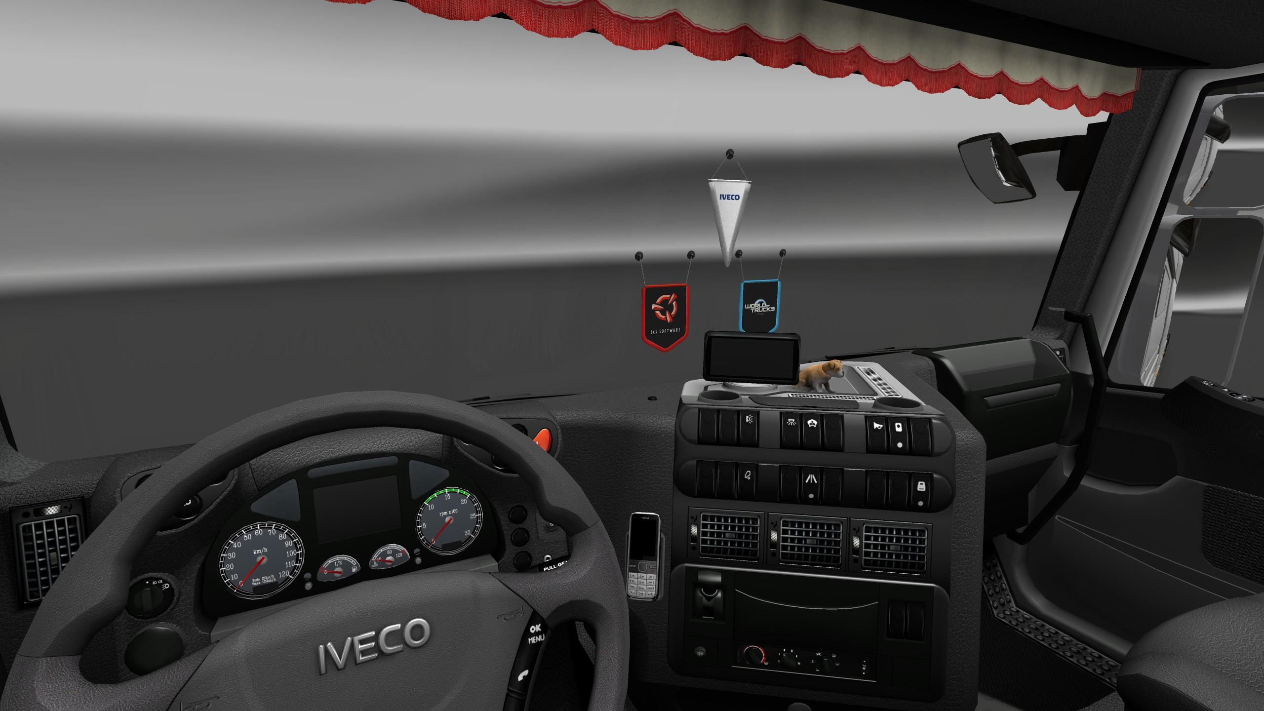 iveco stralis interior exterior rework mod euro truck simulator 2 mods. Black Bedroom Furniture Sets. Home Design Ideas
