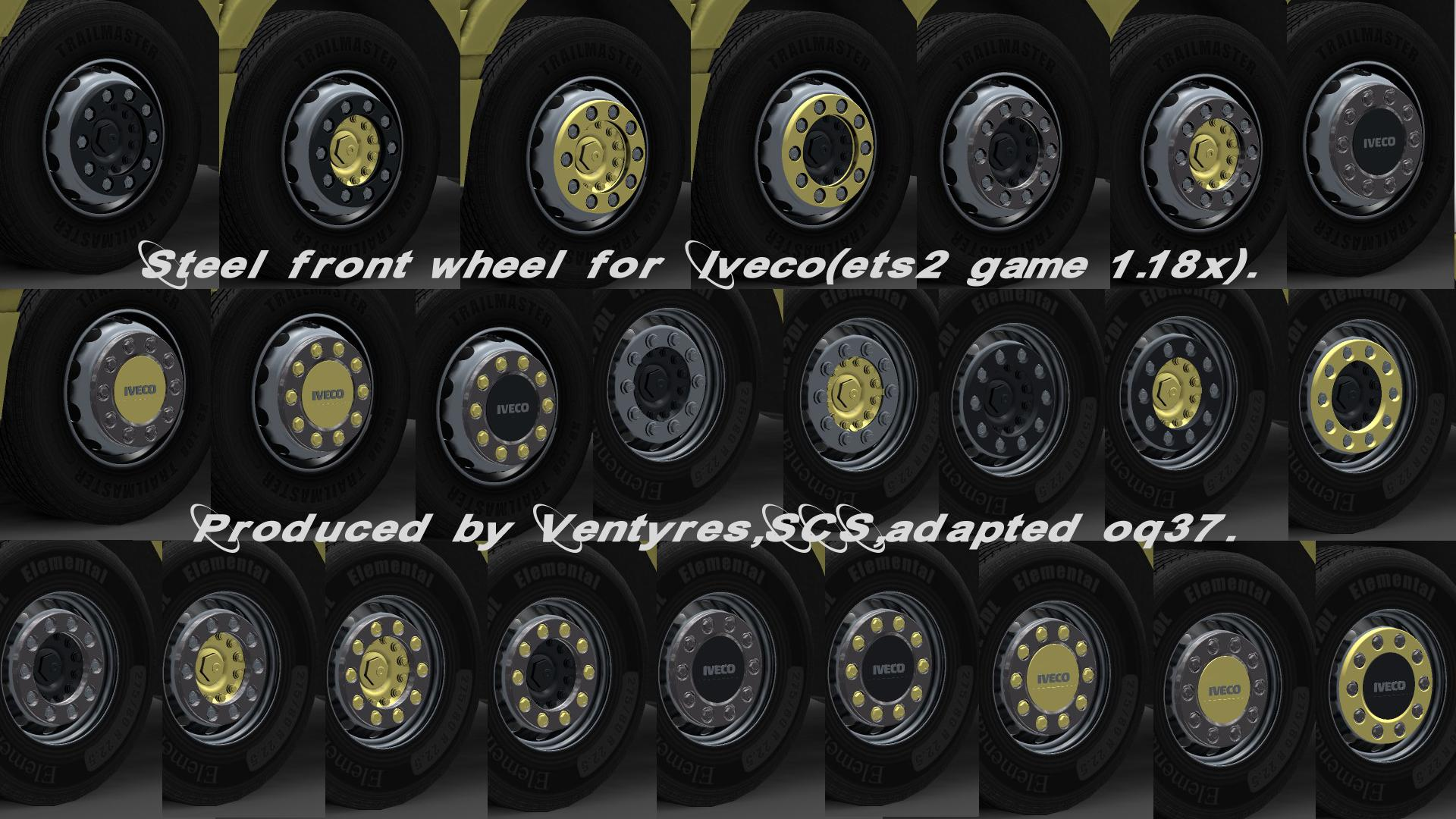 Iveco Wheels Pack For Ets 2 Euro Truck Simulator 2 Mods